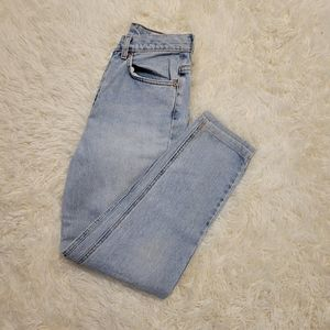 Vintage Calvin Klein light wash jeans